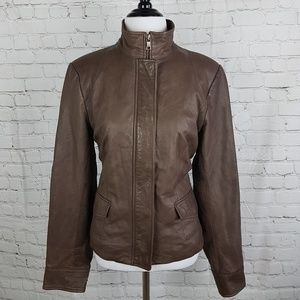 Banana Republic Heritage Genuine Leather Jacket